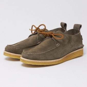 Lawson Suede Shoes - Charcoal