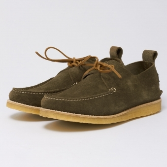Lawson Suede Shoes - Olive