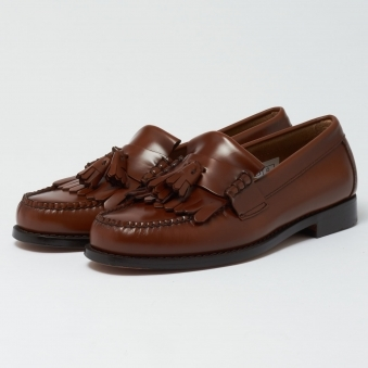 Layton Mocassin - Mid Brown