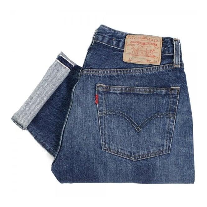 Levi's Vintage ® Levis 1978 501 Light Wash Red Selvage Denim Jeans 78501-0023