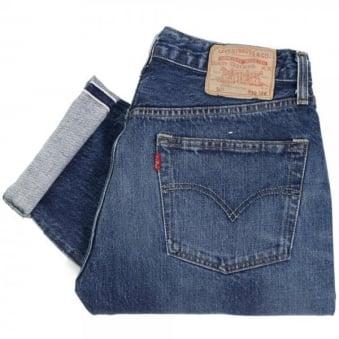 Levis 1978 501 Light Wash Red Selvage Denim Jeans 78501-0023