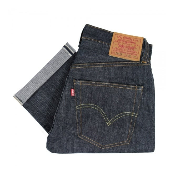 Levi's Vintage ® Levis Vintage 1947 Rigid Shrink to Fit 501 XX Unwashed Selvage Denim Jeans 47501-0117