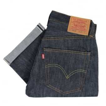 Levis Vintage 1947 Rigid Shrink to Fit 501 XX Unwashed Selvage Denim Jeans 47501-0117