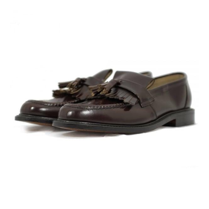 Loake Brighton Oxblood Shoe 1013