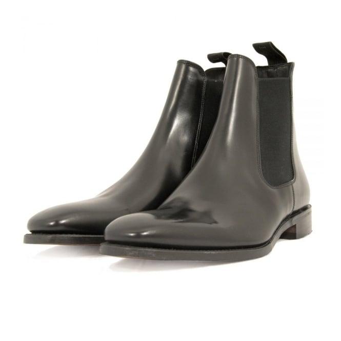 Loake Mitchum Black Leather Chelsea Boot 719890-bk