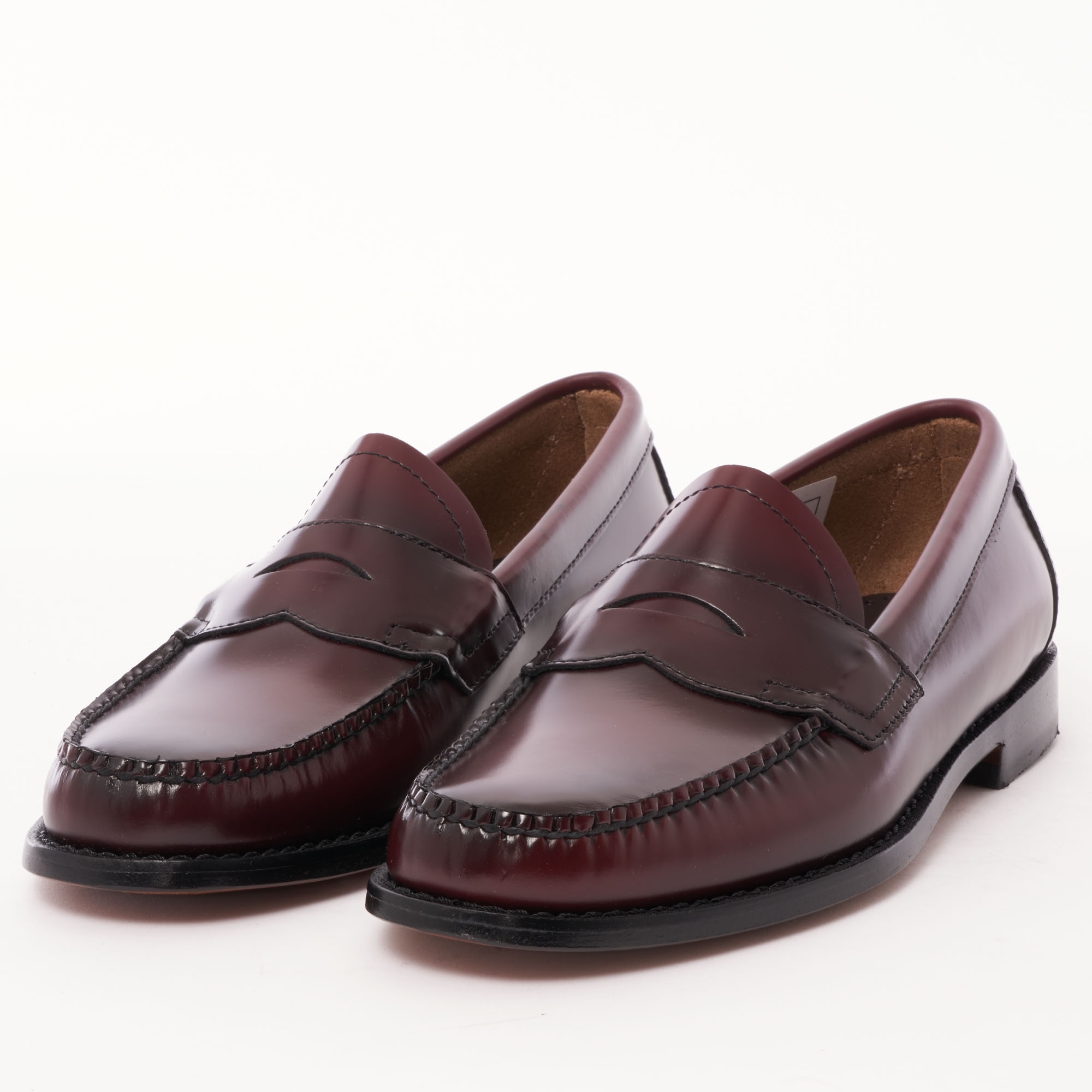 269fcaf6060 Bass Weejuns Logan Polished Leather Loafer (Wine) at Dandy Fellow