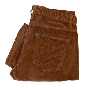 Lois Jeans New Dallas Jumbo Brown Corduroy Trousers 199