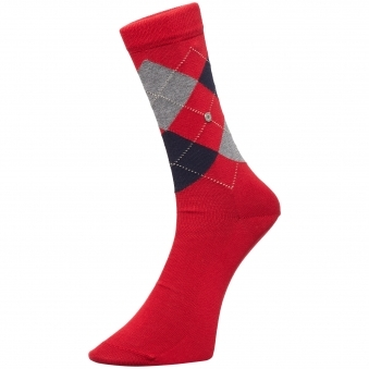 Red Manchester Socks