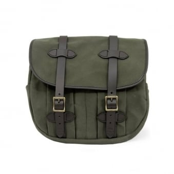 Medium Rugged Twill Field Bag - Otter Green