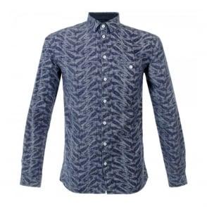 Minimum Brayson Medium Blue Shirt M4243