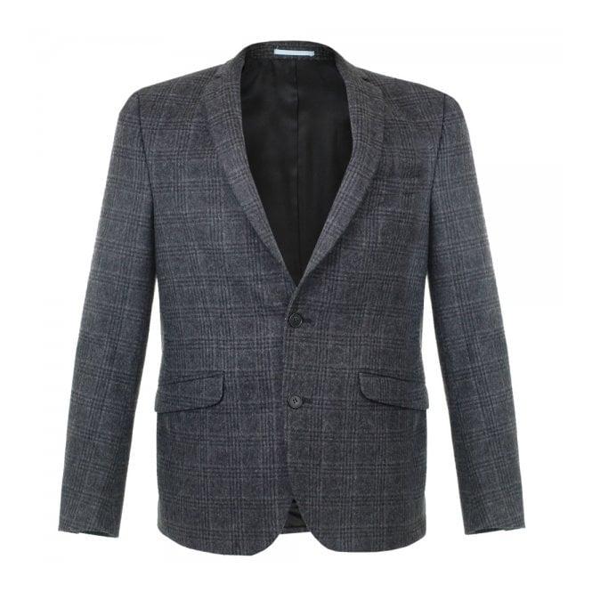 Minimum Whitman Charcoal Wool Blazer 11551