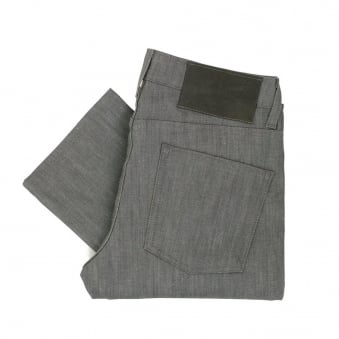 Naked and Famous Skinny Guy Grey Denim Jeans 012051