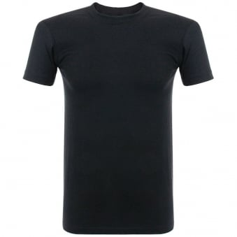 Naked and Famous Vintage Circular Knit Black T-Shirt