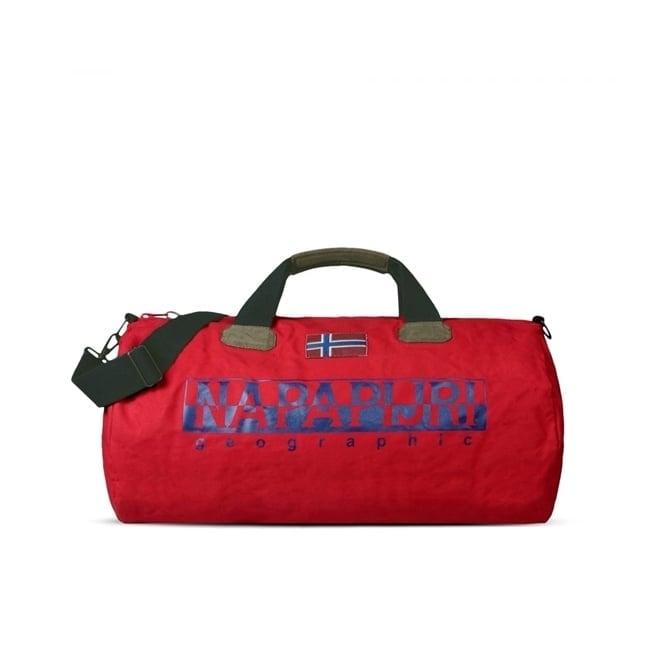 Napapijri Bearing A Red Weekend Bag N0Y82B094