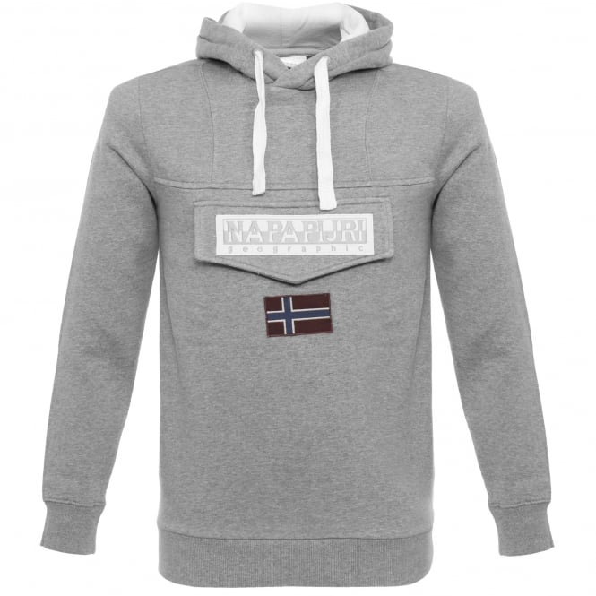 Napapijri Burgee Grey Sweatshirt N0YG2C