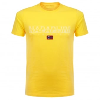 Napapijri Sapriol Summer Yellow T-Shirt N0YCLWY66