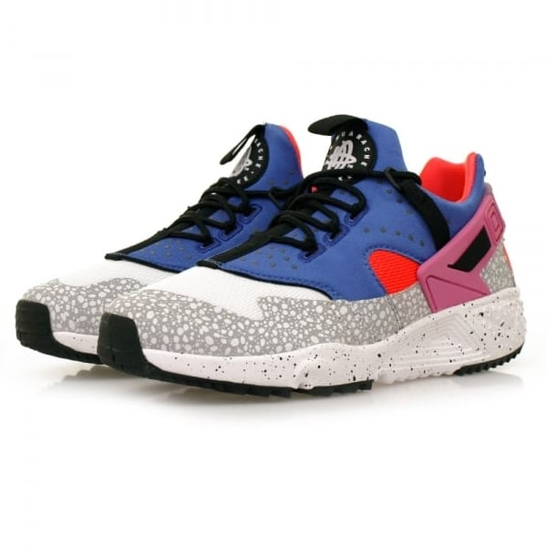 a24155365a11 where to buy pink blue mens nike huarache utility shoes 84a54 103d6