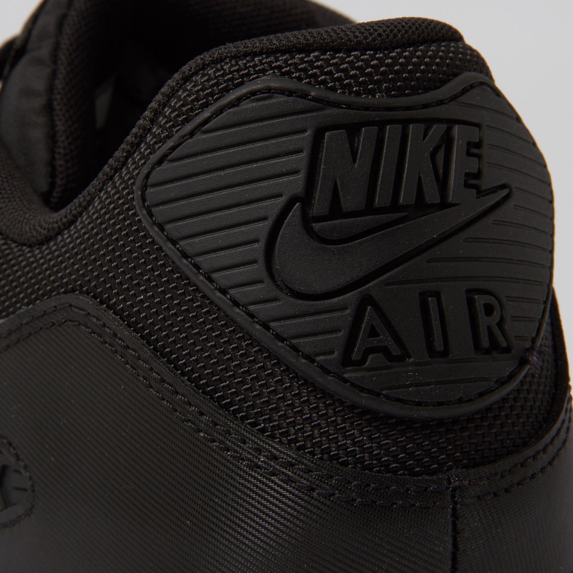 16a30b07f6 inexpensive nike air max 90 essential black trainers 537384 c598d ce272