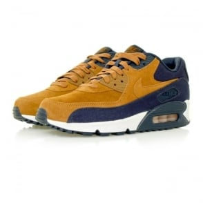 Nike Air Max 90 Premium Ale Brown Shoe 700155 201