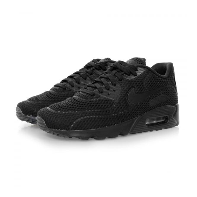Nike Air Max 90 Ultra BR Black Shoes 725222 010
