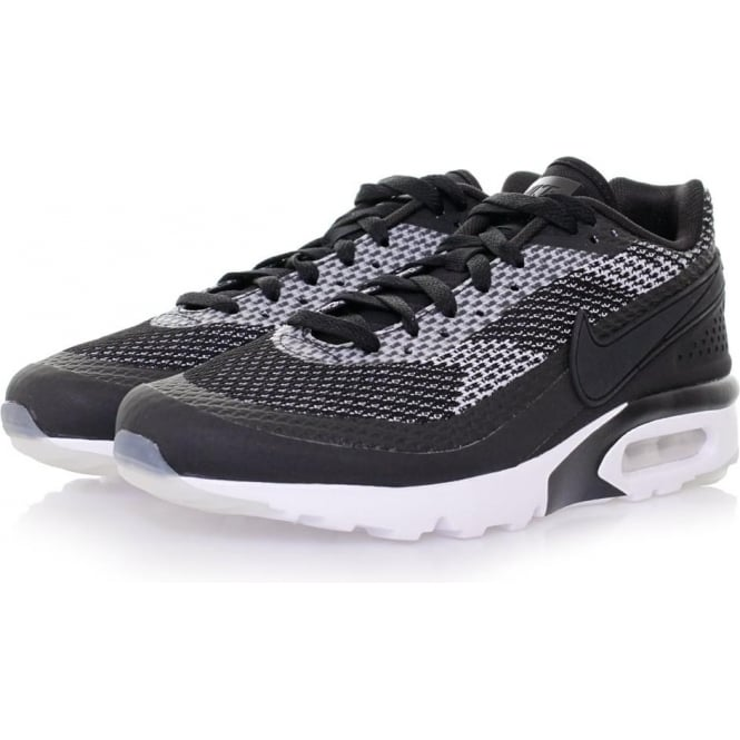 Nike Air Max BW Ultra Knit Jacquard Black & White Shoes 819883001