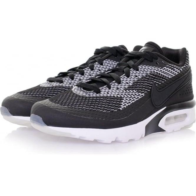 Nike Air Max BW Ultra Knit Jacquard Black & White Shoes 819883001
