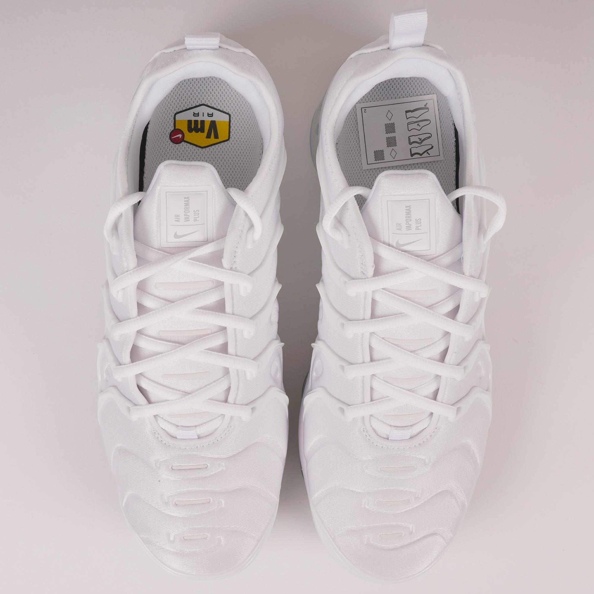 92b27326bed2 Nike Air VaporMax Plus (White   Pure Platinum) at Dandy Fellow