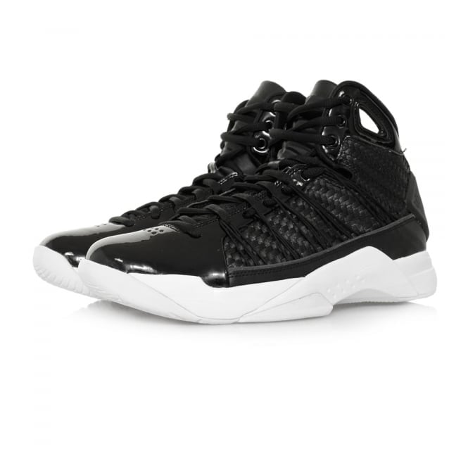 Nike Hyperdunk Lux Black Metalic Gold Hi Shoes 818137 001