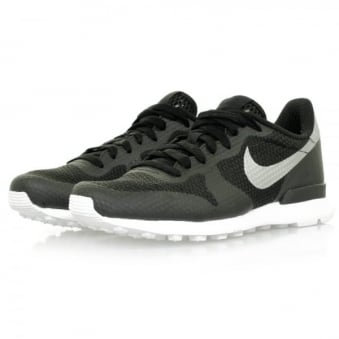 Nike Internationalist NS Black Metallic Silver Shoe 833912-001
