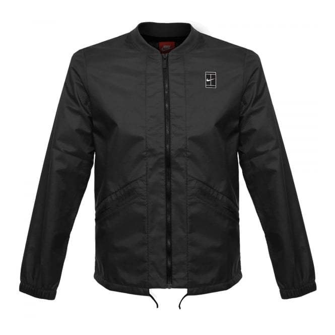 Nike court Black Jacket 810145 010