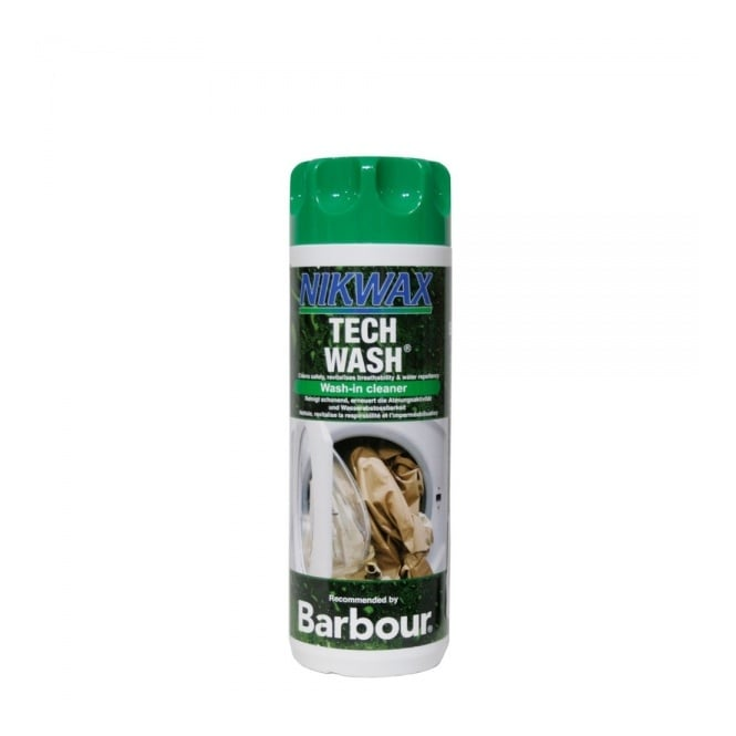 Barbour Accessories Nikwax Wash-in Tech Wash Cleaner