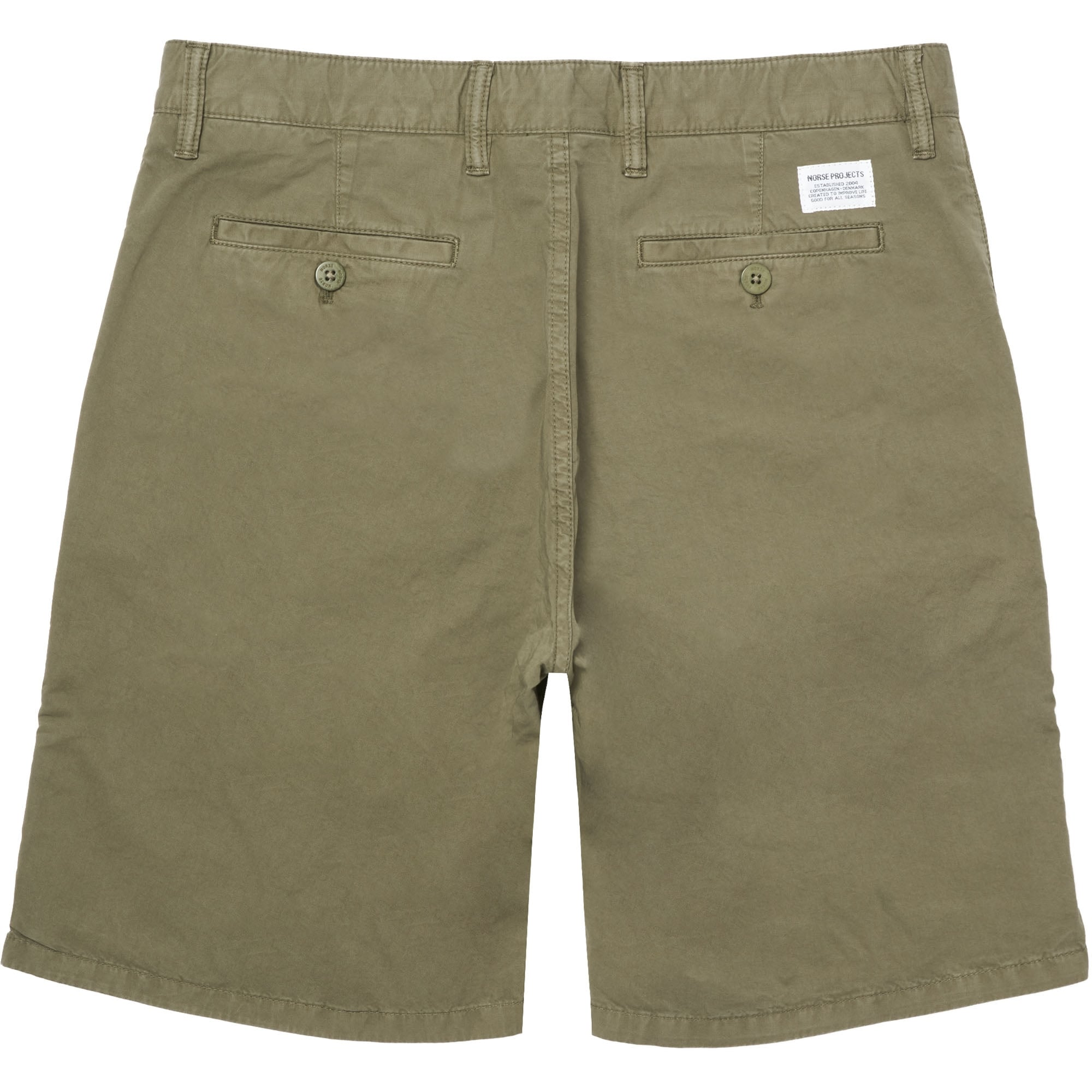 dd226c74434 Norse Projects Olive Aros Twill Shorts N35-0237 | Dandy Fellow