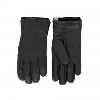 Norse Projects Norse X Hestra UTSJO Black Gloves N95-0516