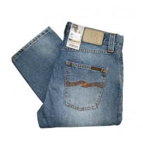 Nudie Jeans Sharp Bengt Org Subtile Light Denim Jeans SKU111331