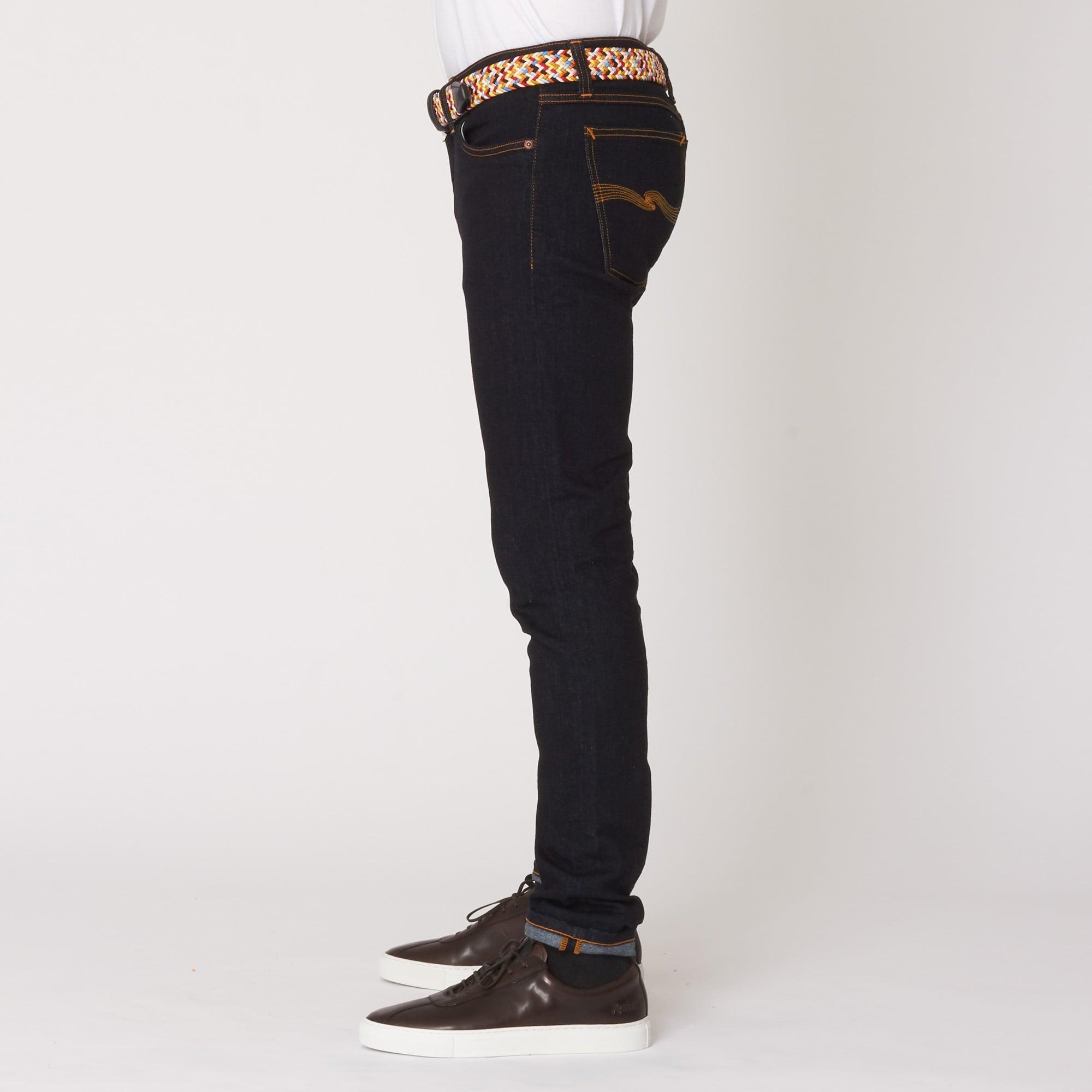 e97ecc2f Nudie Jeans Skinny Lin Jean (Dry Deep Orange) at Dandy Fellow