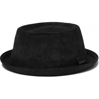 Odenton Pork Pie Cloth hat- Black