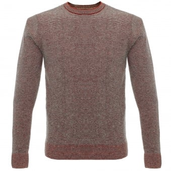 Oliver Spencer Bamako Red Wool Jumper OSK598