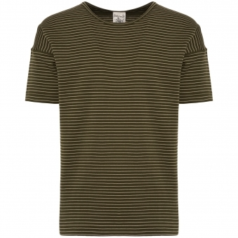 Army Moss Original Stripe T-Shirt