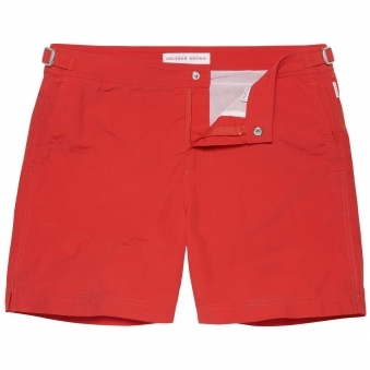 Orlebar Brown Bulldog Rescue Red Swim Shorts 25042530