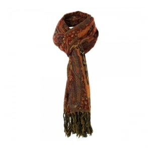 Our Legacy Boiled Paisley Dark Red Scarf 2149BPSDR