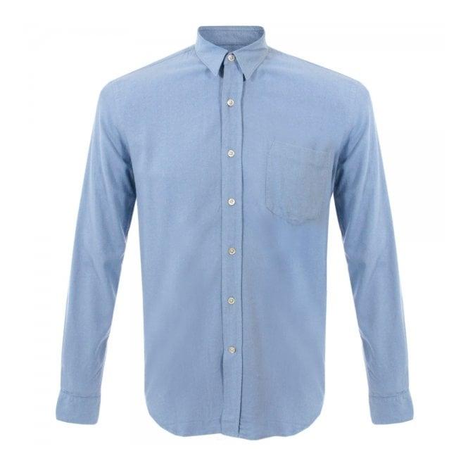 1fc9a3be13b2b Our Legacy Classic Light Blue Silk Shirt 1153CSLBS