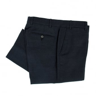 Our Legacy Classic Navy Crepe Trousers 11414CTNC
