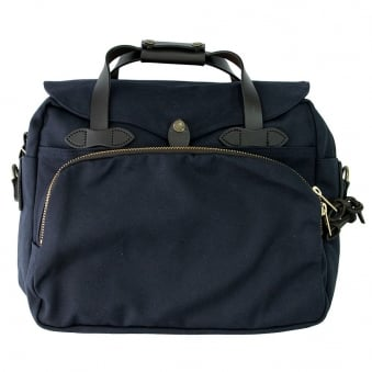 Padded Computer Bag - Navy