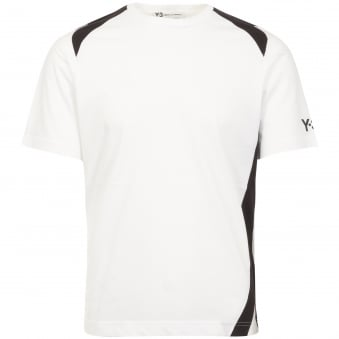 White Panel Insert T-Shirt