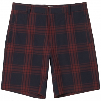 Navy Check Paolo Shorts