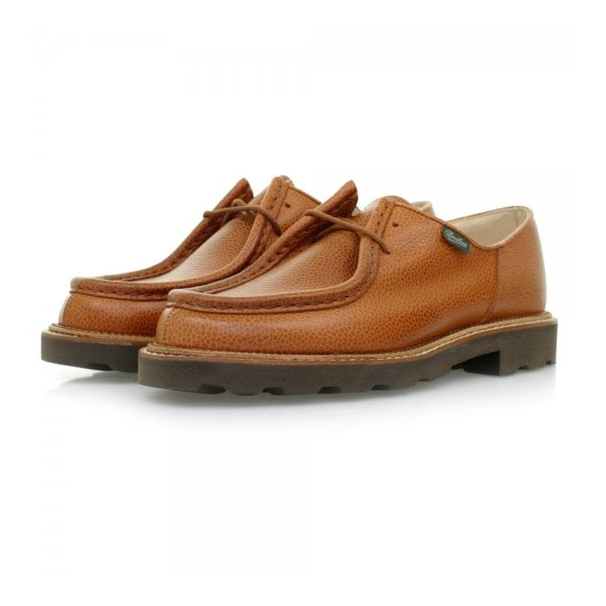 Paraboot Michael Marche Tan Grain Scotch Leather Shoes 157722