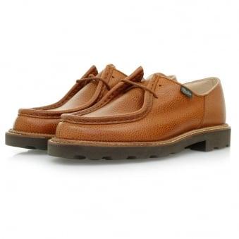 Paraboot Michael Marche Tan Grain Scotch Leather Shoes 157722