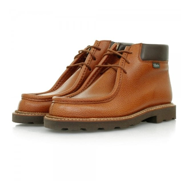 Paraboot Paraboots Milly Marche TT Tan Leather Boots 157922
