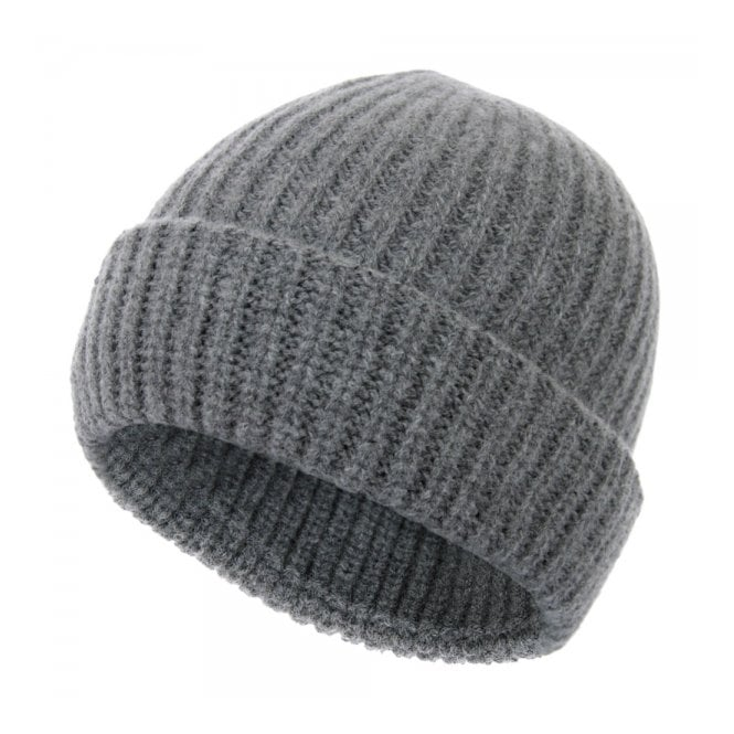 Paul Smith Accessories Paul Smith Jeans Ribbed knit Wool Grey Beanie 939V154E