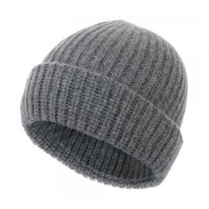 Paul Smith Jeans Ribbed knit Wool Grey Beanie 939V154E